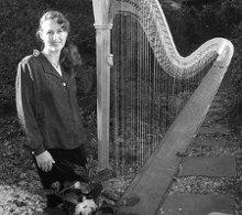 Beth Mailand, Harpist photo