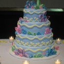 130x130 sq 1415586269542 quilled style wed cake