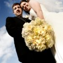 130x130 sq 1265496861562 barretthallbrideandgroomskybackground