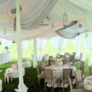 130x130 sq 1413888672919 century pole tent with silver blush  oyster decro
