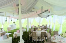 220x220 1413888672919 century pole tent with silver blush  oyster decro