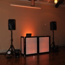 220x220 sq 1418778733685 hudson valley wedding dj bri swatek setup portrait
