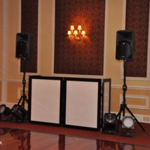 220x220 sq 1418778737536 hudson valley wedding dj bri swatek setup landscap
