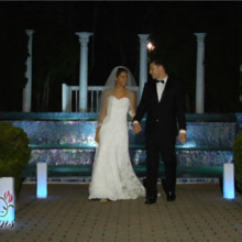 220x220 sq 1486227339664 couple in front of fountain