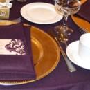130x130 sq 1425057790151 eggplant table close up