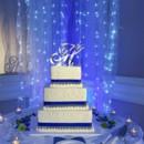 130x130 sq 1464093803605 hues of blue on a wedding cake