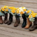 130x130 sq 1357529040172 cowgirlbootswithflowers