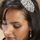 Bold and Beautiful Swarovski Crystal Side Headband!