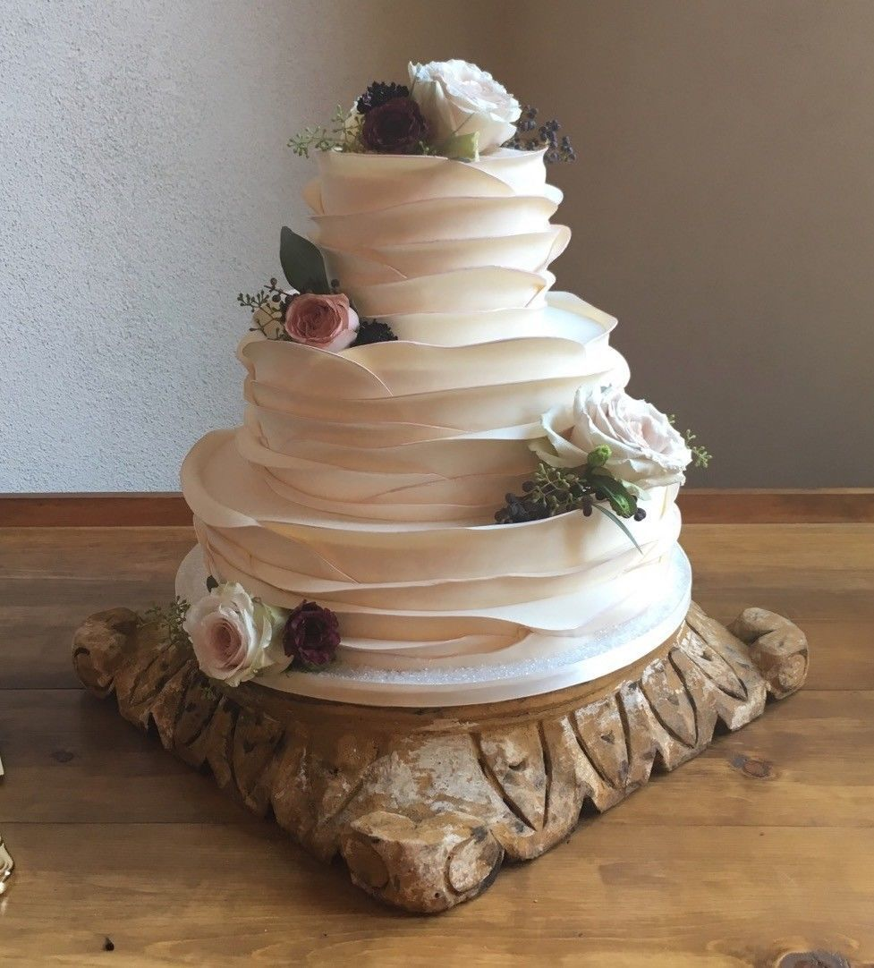 Small Wedding Cake Real