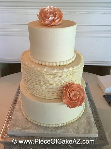piece of cake gilbert az wedding cake
