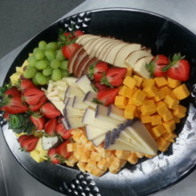 220x220 sq 1398468338302 typical fruit and cheese larg