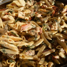 220x220 sq 1487286464407 chicken penne romano