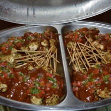 220x220 sq 1487286524899 chicken skewers