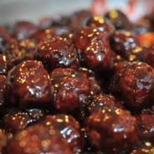 220x220 sq 1497549249046 appetizers raspberry chipotle meatballs