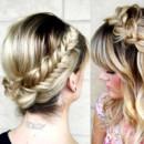 130x130 sq 1490042829764 bridal hair braided crown wedding ideas 1