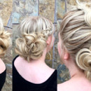 130x130 sq 1490042852776 bridal hair braided updo wedding ideas 1