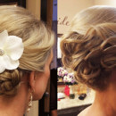 130x130 sq 1490042861778 bridal hair braided updo wedding ideas 2