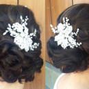 130x130 sq 1490042903835 bridal hair updo bun wedding ideas 2