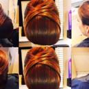 130x130 sq 1490042919736 bridal hair updo bun wedding ideas 3