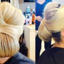 130x130 sq 1490042928611 bridal hair updo bun wedding ideas 5