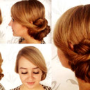 130x130 sq 1490042946486 bridal hair updo bun wedding ideas 7