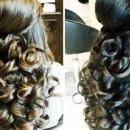 130x130 sq 1490042973004 bridal party hair curls wedding ideas 1