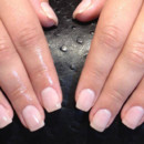 130x130 sq 1490043031105 pale pink acrylic nails
