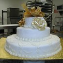 130x130 sq 1181585807356 weddingcakewhite4