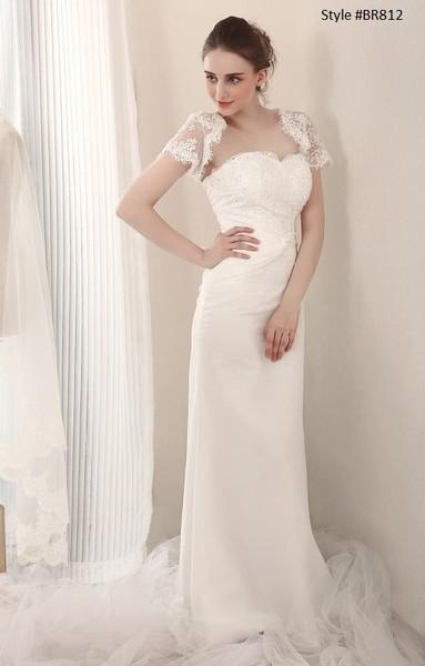 1381243072618 Style Br812 Wedding Dresses With Shrug Frisco wedding dress