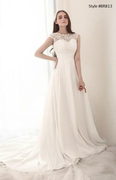 1381243074435 Style Br813 Modest Wedding Gowns Frisco wedding dress