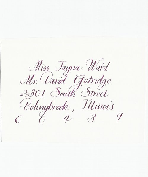 photo 15 of Calligraphy by Jennifer Taylor