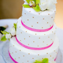 130x130 sq 1387311012215 pink and white wedding cak