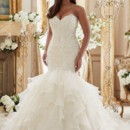 130x130 sq 1473442302475 mori lee julietta 3201 wedding dress 01.2078