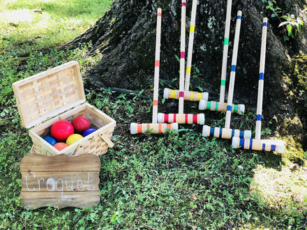Rustic Garden Games and Rentals