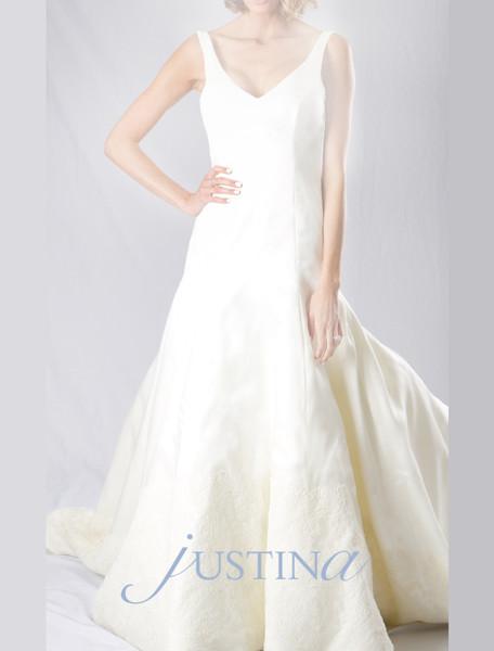 1503601407440 Justina Bridal Discount Wedding Dresses  wedding dress