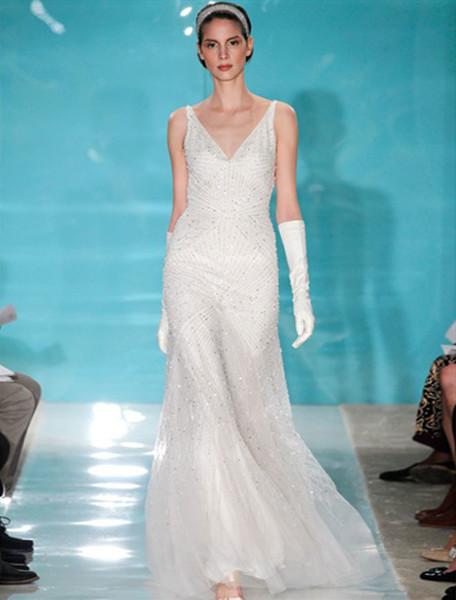 1503609149063 Reem Acra Angelica 4700 Wedding Dress  wedding dress