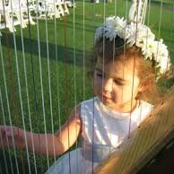 220x220 sq 1477619707937 flower girl with harp