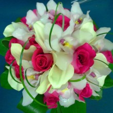 220x220 sq 1453152996031 bridal bouquet7