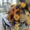 130x130 sq 1453226503590 sunflower centerpieces