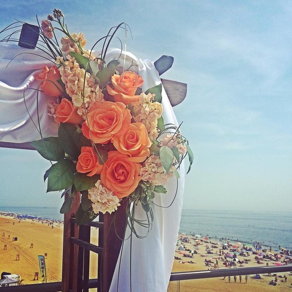 1453226295596 Arch On The Beach Toms River wedding florist