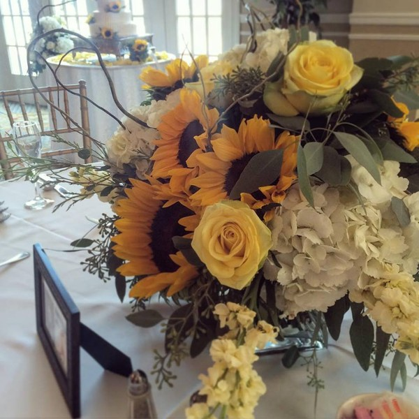1453226503590 Sunflower Centerpieces Toms River wedding florist