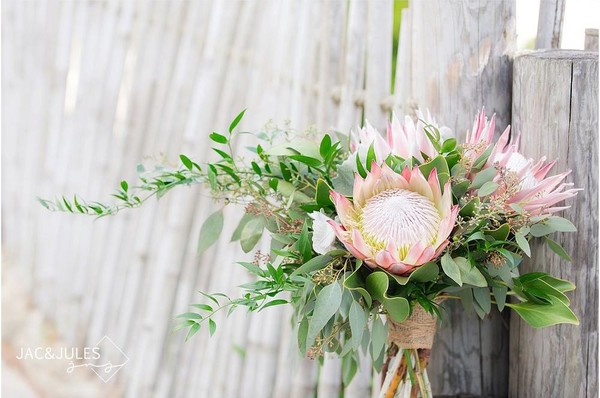 1514491126654 Protea Bridal Bouquet Toms River wedding florist
