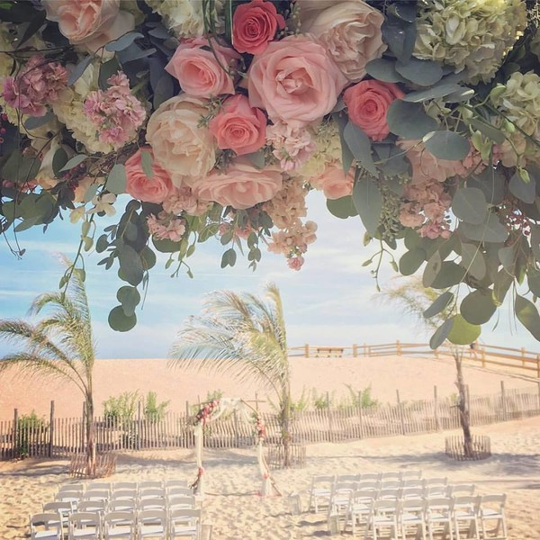 1514492928859 Beach Floral With Arch Toms River wedding florist