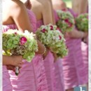 130x130 sq 1373484555076 dana and brians wedding  bouquets bridesmaids