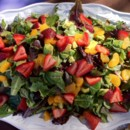 130x130 sq 1369974654026 strawberry avocado salad