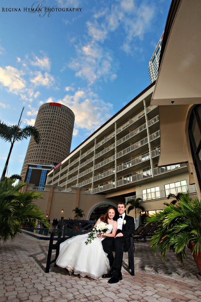Tampa riverwalk wedding