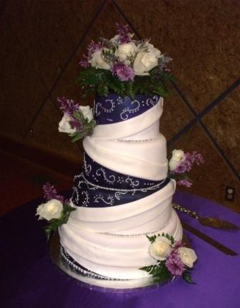 Purple Silver White Round Summer Wedding Flowers Photos Amp Pictures