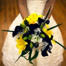 130x130 sq 1266686764222 blackandyellowbouquet