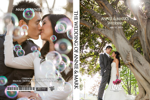1459998755673 Annie Dvd Cover 2 Pasadena wedding videography