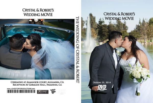 1459998755778 Crystal Dvd Cover Pasadena wedding videography